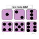 Numbers 1-12 with One to One Correspondence with Dice