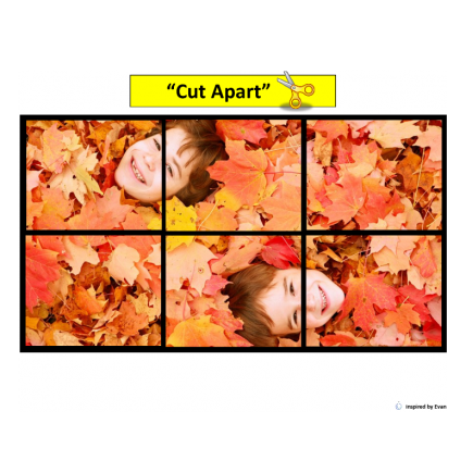 Fall Simple Puzzles for Autism