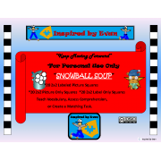 Snowball Soup for Autism