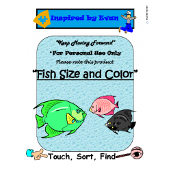 Fish Size and Color Task