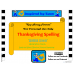 Thanksgiving Words Spelling Boards for Autism