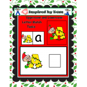 Christmas Alphabet Tasks for Autism