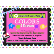 Color Elephant Matching for Autism