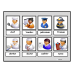 """Community Helpers Bundle""/Flashcards/Sorting/Matching/Labeling for Autism"