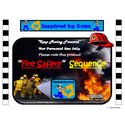 "Fire Safety/""Stop, Drop, & Roll"" Story Sequence for Autism"