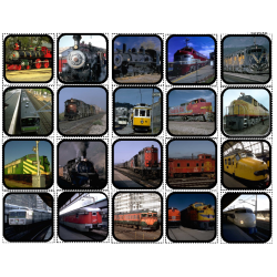 Trains Picture Matching/Flashcards/Memory Game for Autism