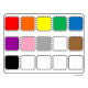 Color Sorting of Objects Mega Bundle