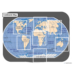 Continents Map Match