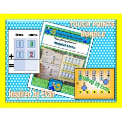Math with Touch Points Bundle for Autism