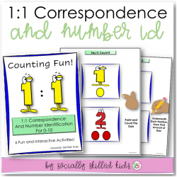 1 To 1 Correspondence {Number Identification and Counting}