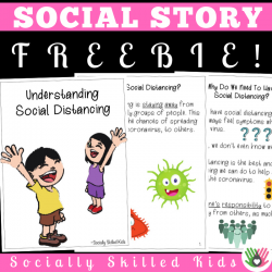 Understanding Social Distancing || Social Story