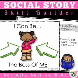 I Can Be The Boss Of Me || Social Story For K-2nd