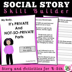 My Body, It's Private and Not-So-Private Parts || SOCIAL STORY SKILL BUILDER || For Girls