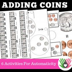 Adding Coins {Coin Values and Adding Coins}