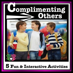 Social Skills Activity, Complimenting Others