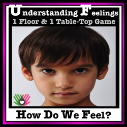 UNDERSTANDING EMOTIONS How Do We Feel? {Floor & Table Top Games}