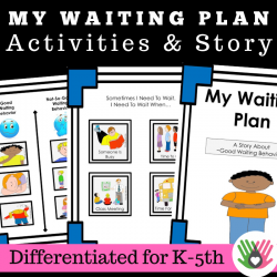 Waiting Plan || Social Story and Activities