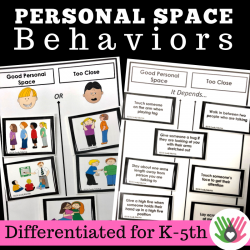 Personal Space Activities {Differentiated For k-5th Grade or Ability}