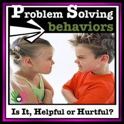 Social Skills, Problem Solving Behavior {Differentiated Activities For k-5th}