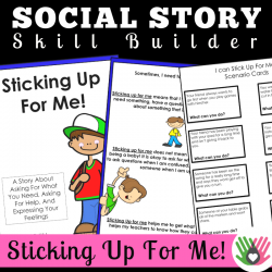 Sticking Up For Me! || SOCIAL STORY SKILL BUILDER  || For Boys