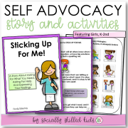 Sticking Up For Me || SOCIAL STORY SKILL BUILDER  || For Girls