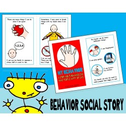 HURTFUL BEHAVIORS SOCIAL SKILLS STORY