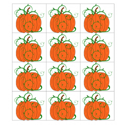 File Folder Activity Preceding and Following Numerals 1-20 (Halloween Theme)