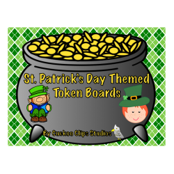 Token Boards (St. Patrick's Day Theme)