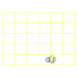 File Folder Activity Sequence Uppercase Letters (Yellow)