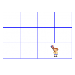 File Folder Activity Sequence to 100 by 10's (Blue)
