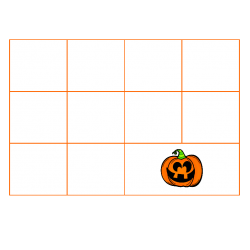 File Folder Activity Sequence to 100 by 10's (Orange)