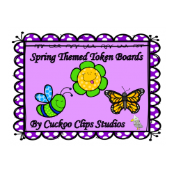 Token Boards (Spring Themed)