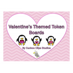 Token Boards (Valentine's Theme)