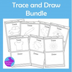 Trace and Draw Fine Motor Skills Activities Bundle