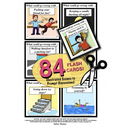 PROBLEM SOLVING! 84 ILLUSTRATED Cards! Predicting Life Skill Theme Problems & Questions!