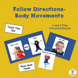Follow Directions-Body Movements