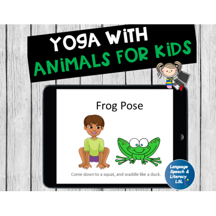 Yoga Poses with Animals for Kids