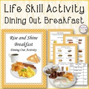 Rise and Shine Breakfast Dining Out Activity