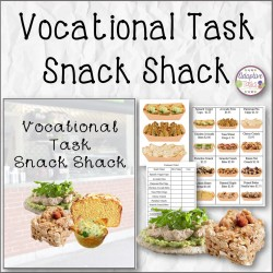 Vocational Task Snack Shack