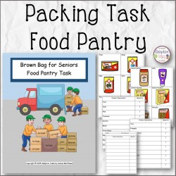Packing Task Food Pantry