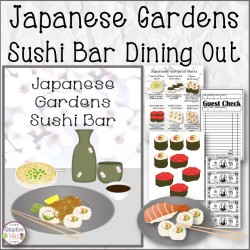 Japanese Gardens Sushi Bar Dining Out Activity