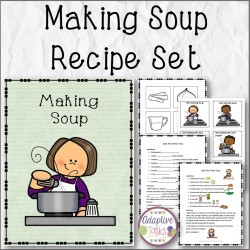 Making Soup Recipe Set