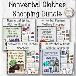Nonverbal Seasons Clothes Shopping Bundle
