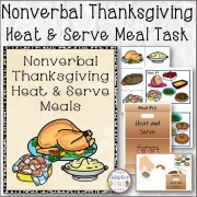 Nonverbal Thanksgiving Heat & Serve Meal Task