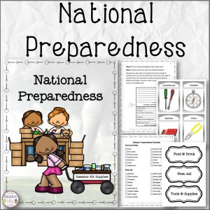 National Preparedness Month Comprehension and Assembly Task