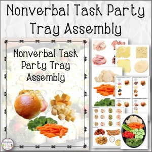 Nonverbal Task Party Tray Assembly