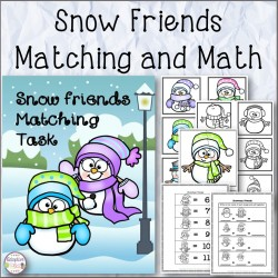 Snow Friends Matching and Math