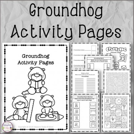 Groundhog Activity Pages
