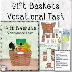 Gift Baskets Vocational Task