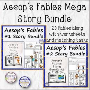 Aesop's Fables Mega Story Bundle